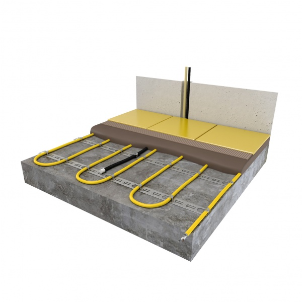 Floor Heat Cable Locators : Floor heating underfloor cable